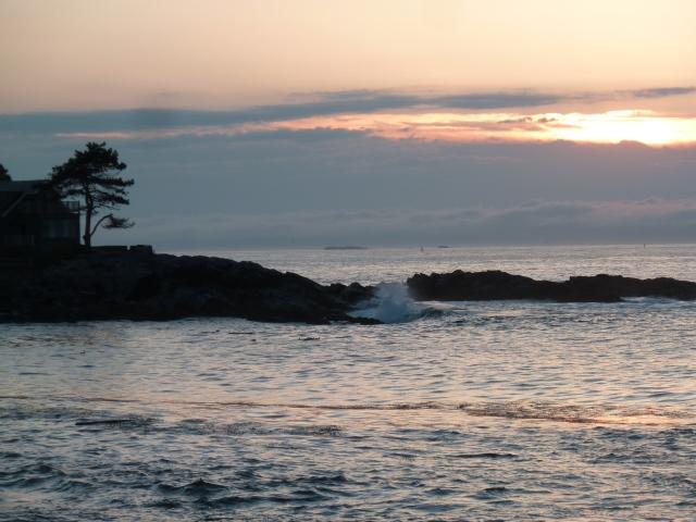 Levé de soleil, Portland
